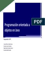 T1-S1 - Programación Orientada a Objetos en Java