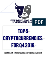 Top 5 Crypto Q4 2018