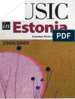 Music in Estonia No_ 7