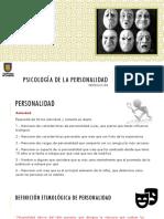 1. Psicologia de La Personalidad.- Introduccion