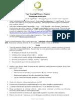 PYC - Requisitos Para El Certificado de Yoga Terapia y El Cuerpo Yoguico