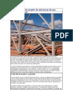 Detalhamento de Projeto de Estruturas de Aço