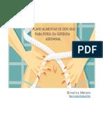 Plano Alimentar de Dois Dias Para Perda Da Gordura Abdominal PDF