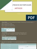 Artigos e Profissões