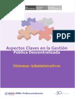 Sistemas Administrativos-presupuesto