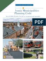 Municipalities Planning Code