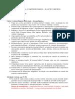 Fisiologia - Lista de Exercícios 2.1