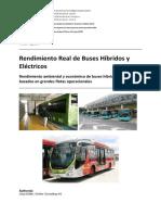 Buses Hibridos y Electricos