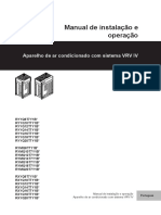 Installation and Operation Manual_Portuguese