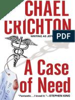 Spitalul de urgenta - Michael Crichton.epub