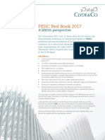 Clyde Co - FIDIC Red Book 2017 - A MENA Perspective FINAL