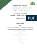 Avelino Alexis Trabajo Titulacion Estructura Noviembre 2016