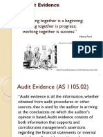Class 13 - Audit Evidence