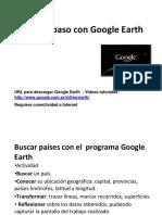 Paso a Paso Con Google Earth