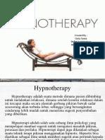Hypnotherapy Belum Jadi