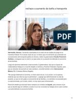 10-09-2018-Pavlovich Reitera Rechazo a Aumento de Tarifa a Transporte y Casetas - Tribuna