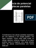 Potencial entre placas, energia potencial y capacitancia..pdf