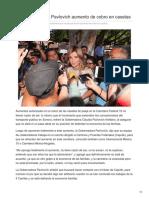 10-09-2018-Rechaza Claudia Pavlovich Aumento de Cobro en Casetas - Elsoldehermosillo