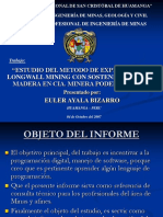 Exposicion Estudio Del Me-longwall Mining