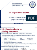 PEAD 2.1.1, 2.1.2 Dispositivos Activos - Semiconductores, Diodos - 2017EJ