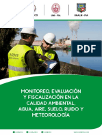 Monitoreo Evaluacion y Fiscalizacion de La Calidad Ambiental Agua Aire Suelo Ruido y Meteorologia