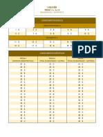 Liquigas 2015 Gabarito - Prova 4 e 6 a 10