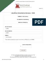 Servicio de Consulta de Registro de Deudores Alimentarios Morosos