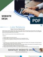 Presentasi Website Desa