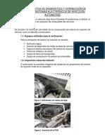 Procedimientos de Diagnóstico y Corrección de Averías en Sistemas Electrónicos de Inyección Automotriz