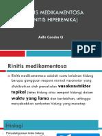 Rhinitis Hiperemika Atrofi Vasomotor Adhi