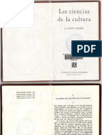 Cassirer, E. - Las ciencias de la cultura.pdf