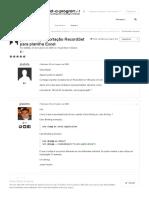 [Resolvida] Exportação RecordSet Para Planilha Excel - Visual Basic Clássico - Portugal-A-Programar