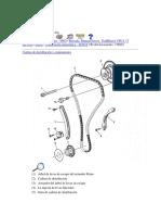 Trail Blazer 2002 L6 Cadena de distribución y componentes