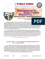 The TYWLS Times - March 2018 Edition