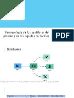 Farmacología de Los Sustitutos Del Plasma y De