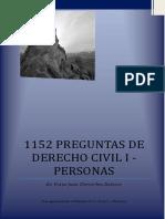1152 preguntas de derecho civil 1 personas