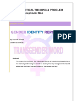 Art210 A01 Gender Identity Report PSullivan