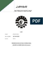 Laporan Praktikum Biologi 1