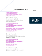 Pimpinela - TANTOS DESEOS DE TI.docx