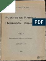 Puentes de Fabrica y Hormigon Tomo II