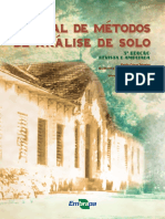 Manual de Metodos de Analise de Solo 2017