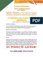 Anhanguera Adm 5 e 6 a Fabrica de Chocolate