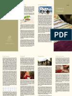 Segment Brochure Culture and Heritage