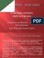 Aula III IED II 2015.2 O Mundo Antigo, Grécia e Roma.pptx