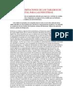 Ventajas y Limitaciones de Los Tableros de Control Digital Para Las Industrias