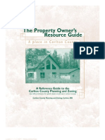 A Place in Carlton County - The Property Owner's Resource Guide