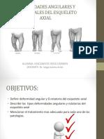 Deformidades Angulares y Rotacionales