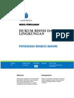 Hukum Bisnis Dan Lingkungan Tatap Muka 2