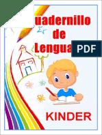 Cuadernillo de Lenguaje Kinder