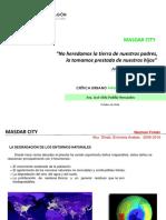 Masdar Ciudad sustentable